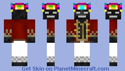 The Wither King Minecraft Skin