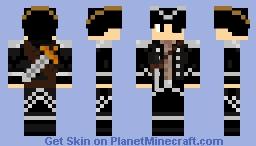 Piranha The Pirate Minecraft Skin