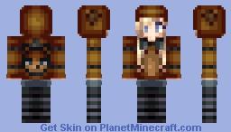 Freddy Fazbear Girl! ❤ Minecraft Skin