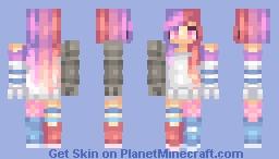 ♫♠ Abandon3dRain♫♠ Futuristic Babe Minecraft Skin
