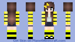 Bee! :3 Minecraft Skin