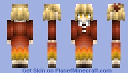 TOUHOU PROJECT: Shizuha Aki Minecraft Skin