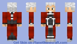 Archer - Fate/Stay Night! (Skin Battle Against DragonsDungeon) Minecraft Skin
