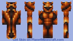 Nether Warlord Minecraft Skin