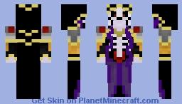 Overlord Anime Minecraft Skin