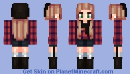 ♫ | Personal Plaid Minecraft Skin