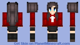 Rin Tohsaka【Fate Series】 Minecraft Skin