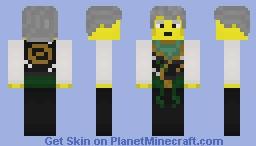 Ninjago (Tournament of Elements) - Sensei Garmadon Minecraft Skin