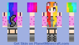 Nyan Cat (Another skin from Skindex) Minecraft Skin