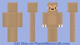 ♣ℜσβαη♣ Blocky Sloth Minecraft Skin