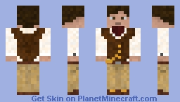 The Vest and Ascot - Elegance Minecraft Skin