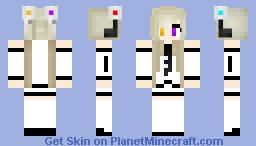 Portal2 moe_ Glados Minecraft Skin
