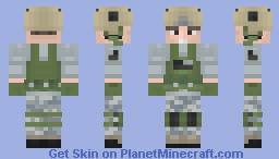 U.S Army Ranger (Late 4th of July skin) Minecraft Skin
