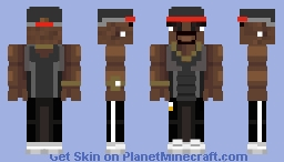 50 cent ( SpaceGames ) Minecraft Skin