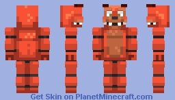 Five Nights at Freddy's Fan-made Animatronics Minecraft Collection