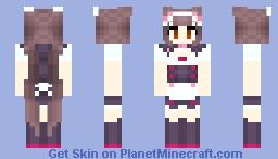 Chocola Nekopara Maid Dress Minecraft Skin - Skins para minecraft 1 8 4