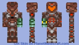 Dark Suit (Metroid Prime 2) 3D 1.8 Skin Minecraft Skin