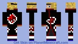 Deidara Minecraft Skin