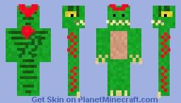 Dilophosaurus (First Skin) Minecraft