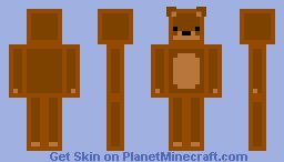 Teddy Bear- OC Minecraft Skin