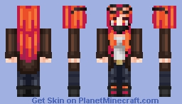 Leather Jacket Minecraft Skin