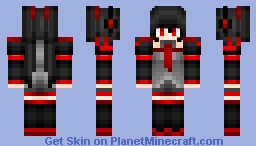 Zatsune Miku Minecraft Skin