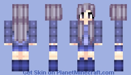 Blueberry OuO *Fruit Collection* Minecraft Skin