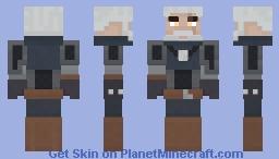Geralt of Rivia 1.8 Minecraft Skin