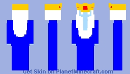 [AT] The Ice King Minecraft Skin