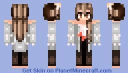 I'm back! Oc: Farah. Minecraft Skin