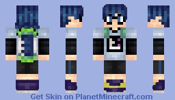 Splatoon! (Male Inkling) Minecraft Skin