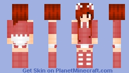 ~Red And White Fox~ Minecraft Skin