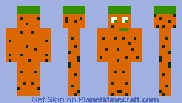 El Hombre Zanahoria Minecraft Skin Zanahoria games | súbele el nivel a tu fiesta. el hombre zanahoria minecraft skin