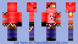 Steampunk Foxy (Request) Minecraft Skin