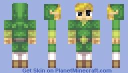 Toon Link (TWW) Minecraft Skin