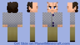 Dr. Phlox (chunkier version in descrption) Minecraft Skin