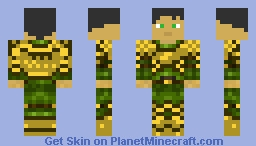 Wood-Elf Warrior Minecraft Skin
