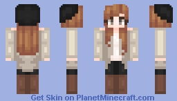 Winter Holiday ♥ Kabple's Contest Round One Minecraft Skin