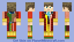 6th Doctor Minecraft Skin