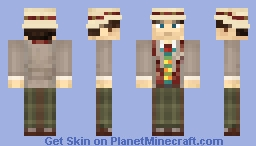 7th Doctor Minecraft Skin