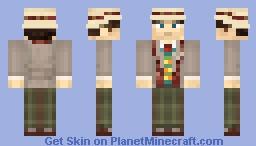 7th Doctor Minecraft Skin
