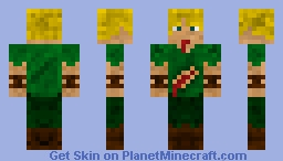 Wounded Person Minecraft Skin