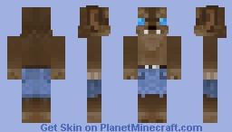 BloodMoon Werewolf Minecraft Skin