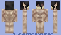 Attack On Titan - Eren Yeager (both forms in 1) Minecraft Skin