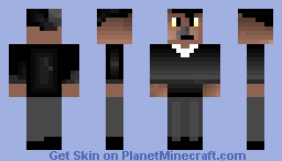 Neil deGrasse Tyson Minecraft Skin