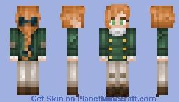 ♥~ Regular Girls ~♥ (Red) Minecraft Skin