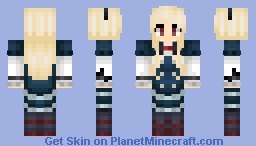 Rinko Ogasawara【Shirobako】 Minecraft Skin