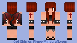 21547f2ea7b09 Devil girl part 2. Devil girl part 2 Minecraft Skin