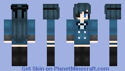 Female Ciel ~ Black Butler ~ Minecraft Skin
