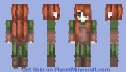☆ ᒪᙓIᗩ_ ☆ Tauriel Minecraft Skin